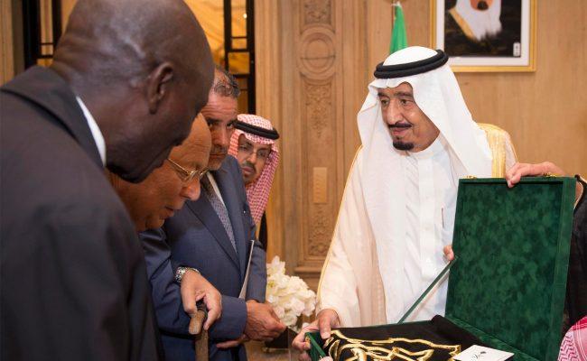 rencontre Prince héritier Salman et Président du CFCM