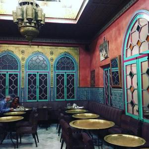 L'une des salles du restaurant