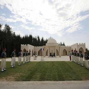 Les 25 juin 2006, inauguration du Mémorial aux combatants musulmans à Verdun.