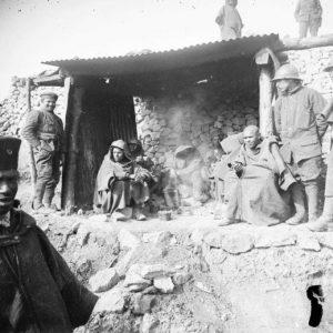 Des tirailleurs à Verdun, mars 1918.