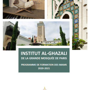 Formation des Imams - Institut Al-Ghazali 2020-2021